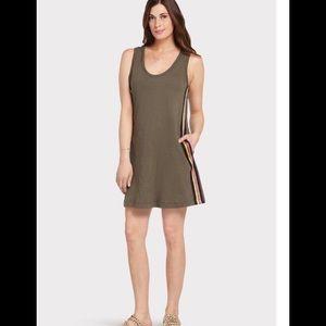 Evereve Peyton Jensen Bennett Varsity Stripe Dress